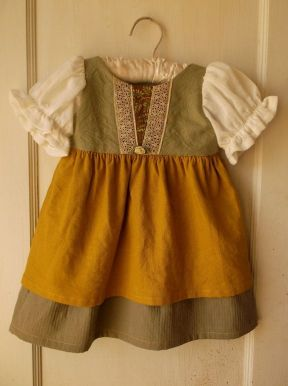 The toddler-hobbit's dress from Etsy