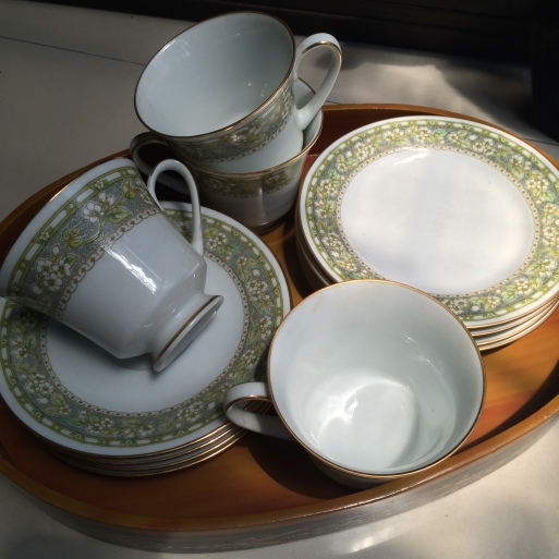 From Noritake's Sampaguita collection