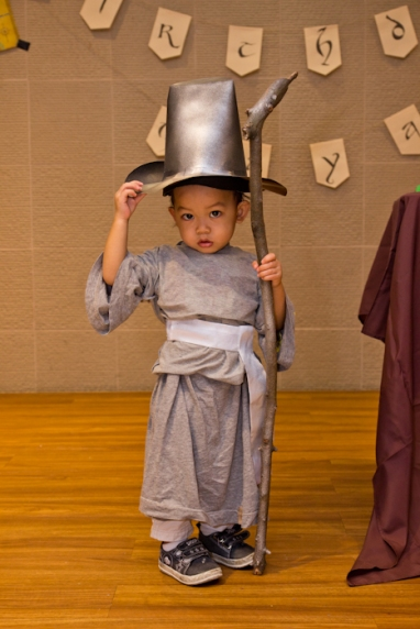 My nephew is the cutest Gandalf the Grey (with all due respect to Sir Ian McKellen!)
