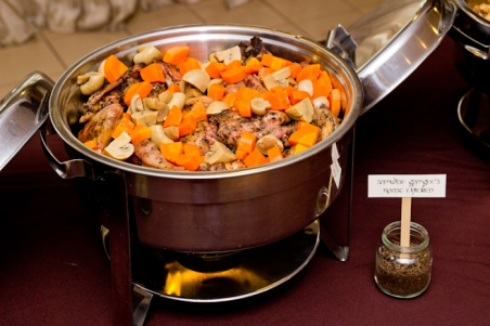 Samwise Gamgee's Roast Chicken with Shrooms and Carrots