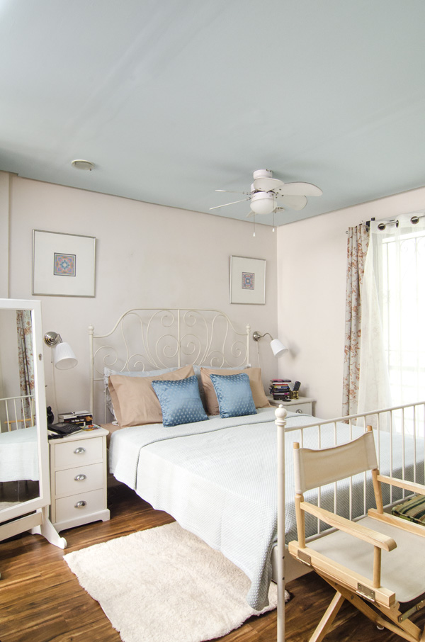 gal at home house tour master's bedroom