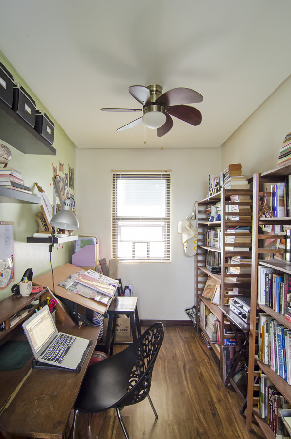 My home office/library (photo courtesy of Toto Labrador/Cosmopolitan Philippines)