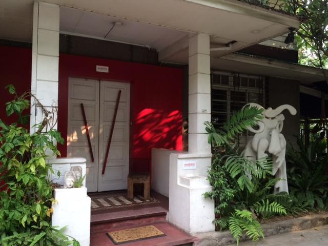 Facade of the Avellana Art Gallery