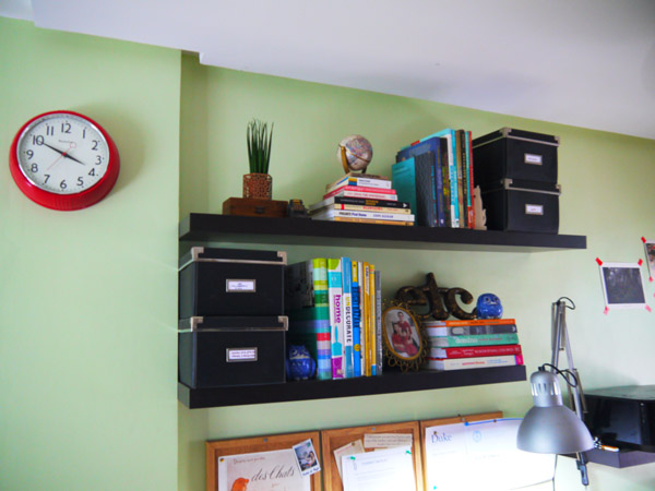 I broke up those books and boxes, and added more objects.