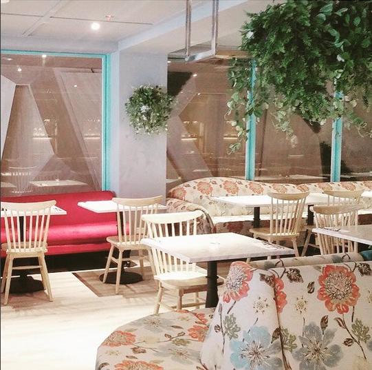 Cafe Naya @ The Palace (image courtesy of @matchcontract on IG)
