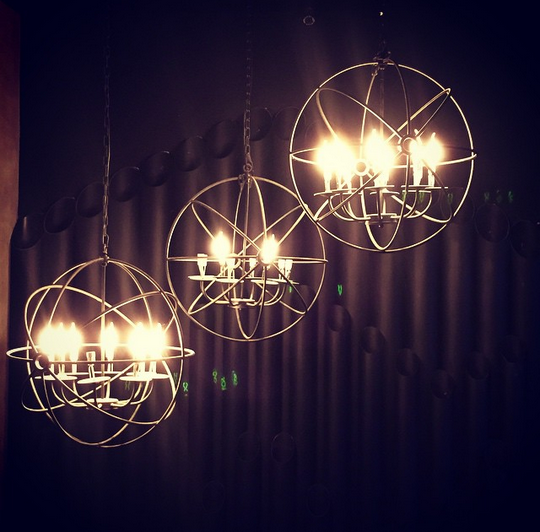 Lights from The Brewery at The Palace (image courtesy of @matchcontract on IG)