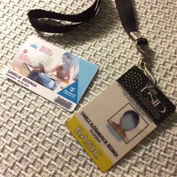 My design school IDs