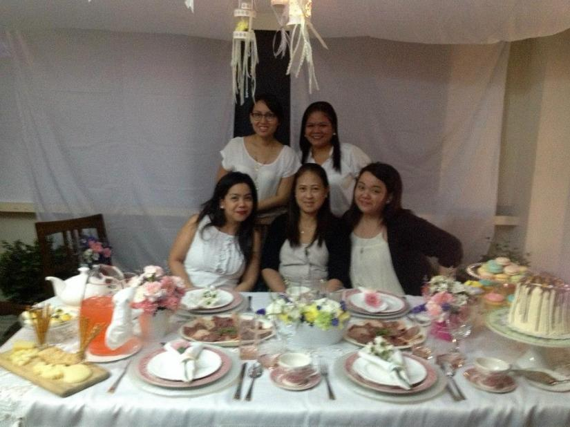 With my Elements groupmates