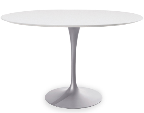Eero Saarinen round dining table tulip series