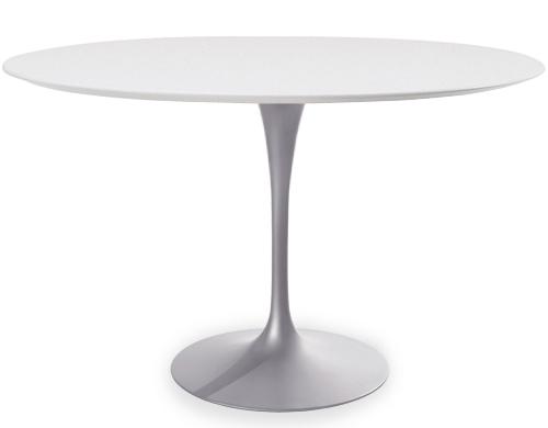 Eero Saarinen round dining table tulip series