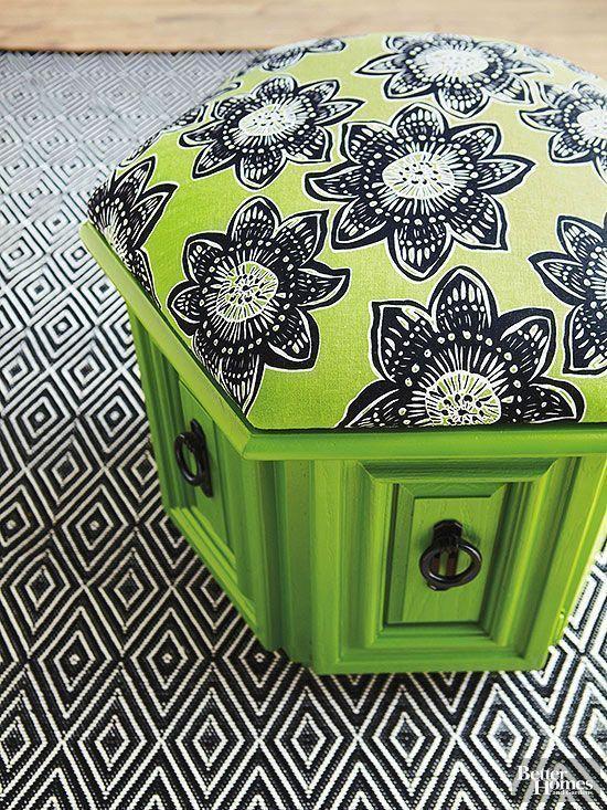 FurnitureMakeovers-HexagonalTableAFTER
