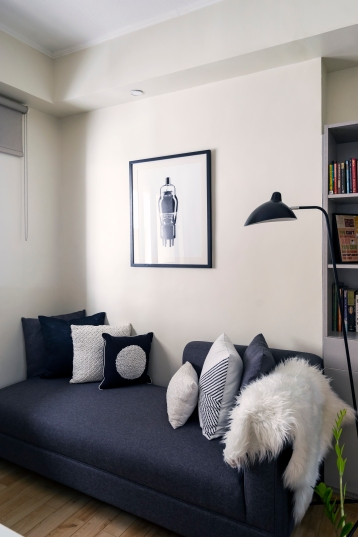 before and after condo renovation